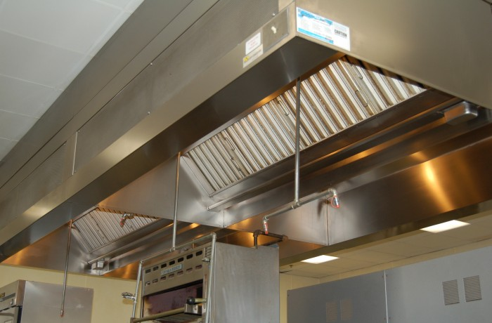 Commercial kitchen exhaust cleaning for Decor systems